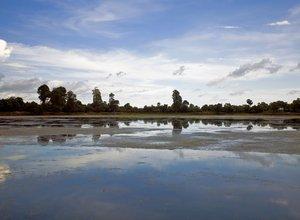 Cambodia lake