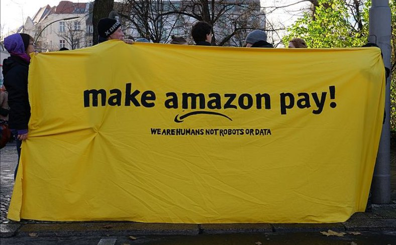 Make Amazon pay demo Berlin
