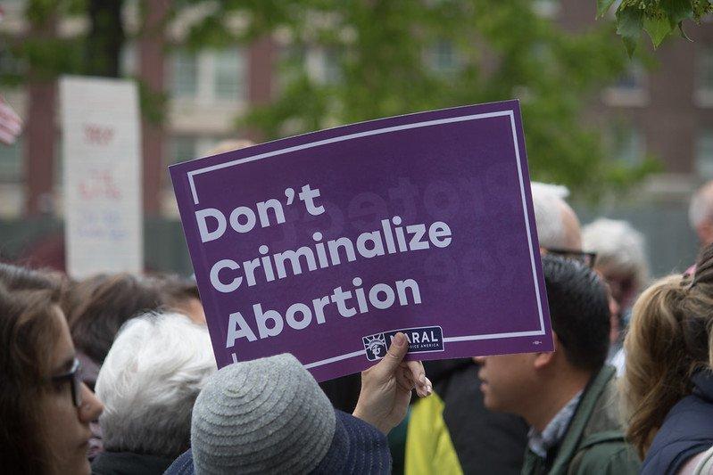 Abortion ban rally