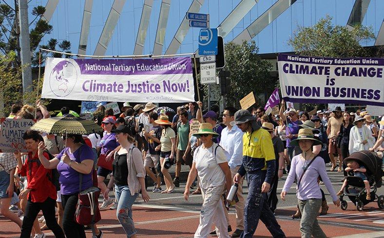 Australia climate strike
