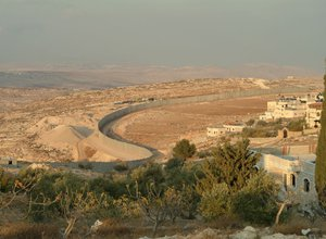 Separation wall Israel and Palestine