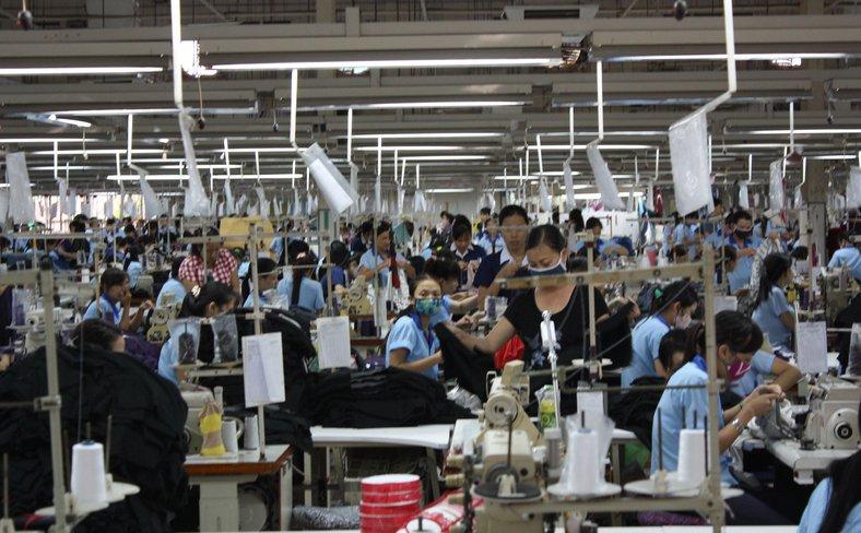Nobland garment factory, Vietnam
