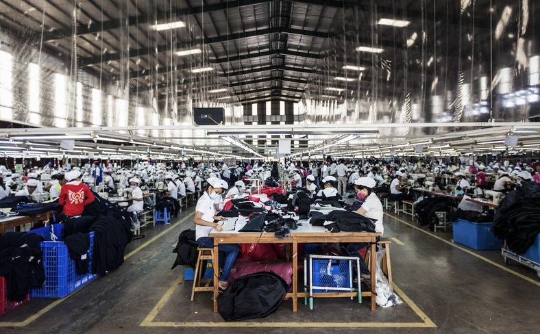 Garment factory Vietnam