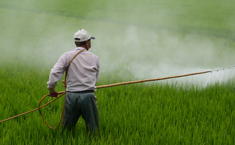 Farm worker Pesticide