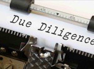 Due Diligence Typewriter
