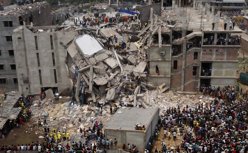 Rana Plaza building collapse Dhaka 2013