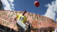 Protest against FIFA World Cup 2014 in Brazil - photo by Agência Brasil