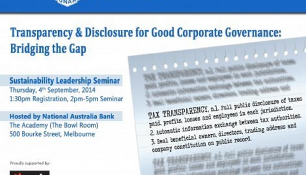Transparency in Corporate Governance
