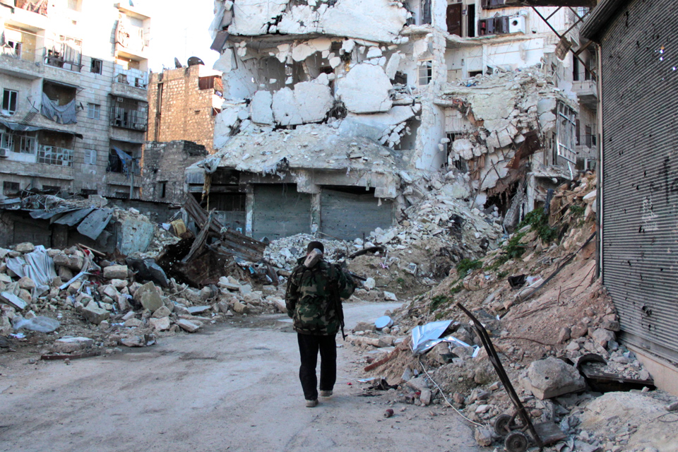 2013 Karm al Jabal Neighbourhood in Aleppo, Photo Credit Basma, licensed under CC BY-ND 2.0