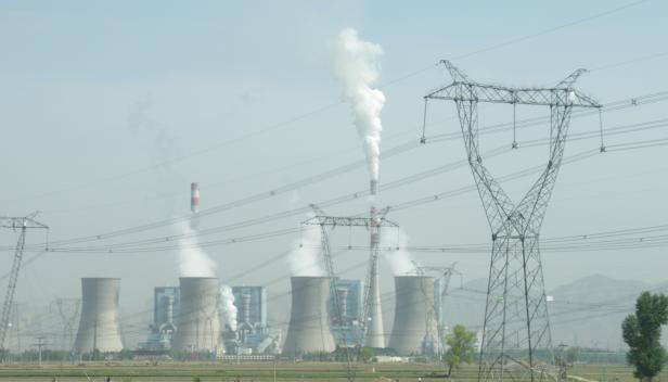 """Shuozhou coal power plant"" by Kleineolive licensed under CC BY 3.0."