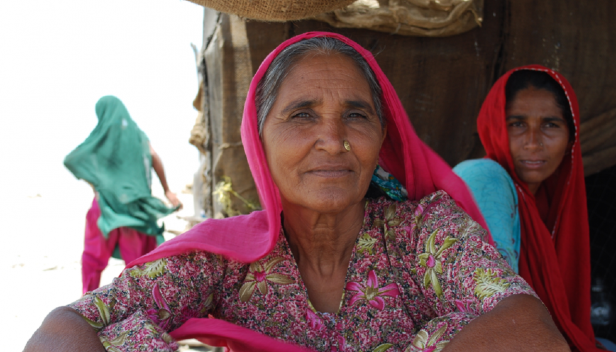 A family harmed by the World Bank's IFC project in Gujarat. Credit: Accountability Counsel