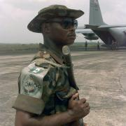 Nigerian Soldier, By SSGT Paul R. Caron, USAF [Public domain], via Wikimedia_Commons
