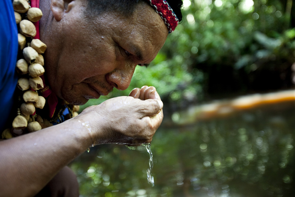 Ecuador-indigenous-people-chevrons-toxic-legacy-credit-Caroline-Bennett-Rainforest-Action-Network