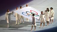 Sochi winter Olympics opening - photo by Korea