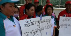 Cambodia Caltex strike photo credit Marta Kasztelan