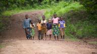 Guinea children - photo by Julien Harneis