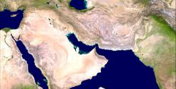 Satellite image of Middle-East. Credit: www.globe-images.net