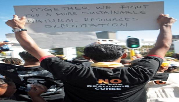 Call for responsible mining by protesting delegates of Alternative Mining Indaba