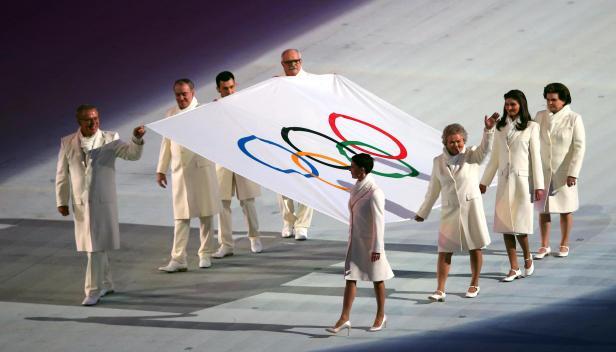Sochi winter Olympics opening - photo by Korea