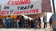Ejido la Sierrita protest again Excellon Resources, Mexico - credit: Cencos (Mexico)