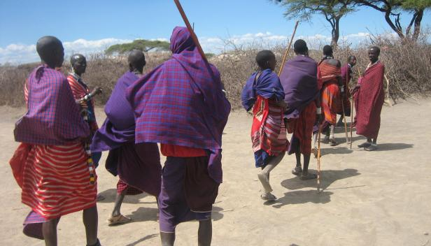 Maasai - photo by Gideon Granville
