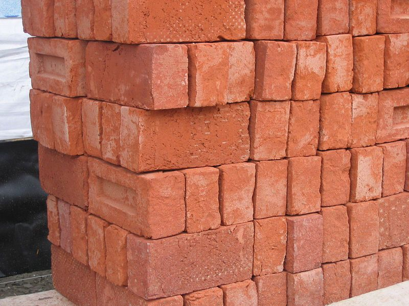 Pile of bricks. Picture taken by Fruggo.