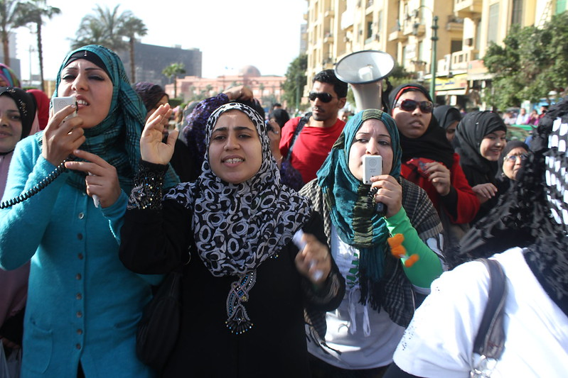 Al Jazeera Photo-International women day in Egypt-via Flickr