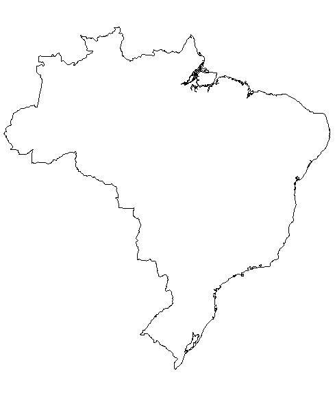 Brazil-outline-map-credit-Matt-Rosenberg-About%20com-geography
