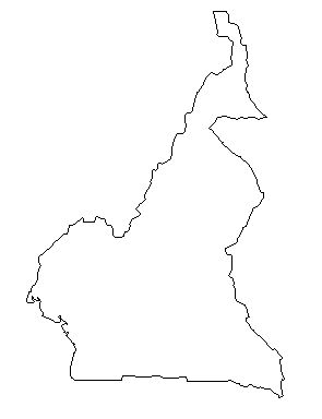 Cameroon-outline-map-credit-Matt-Rosenberg-About com-geography