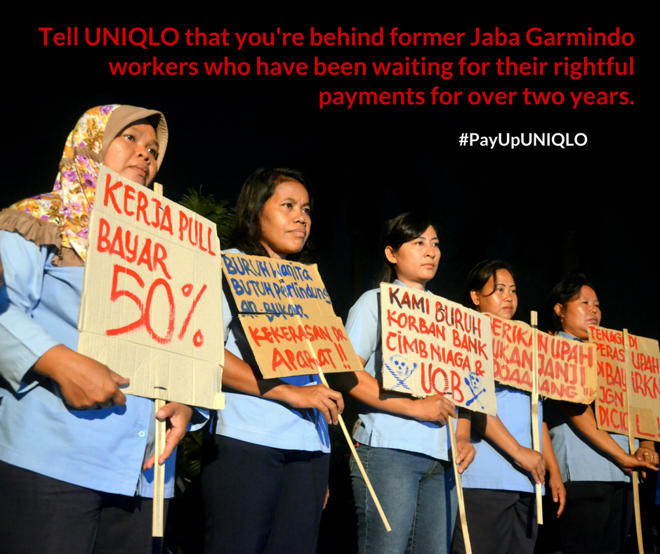 Jaba Garmindo Picket Line