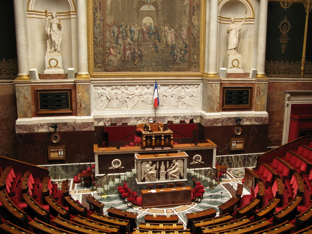 Hémicycle Assemblée Nationale France