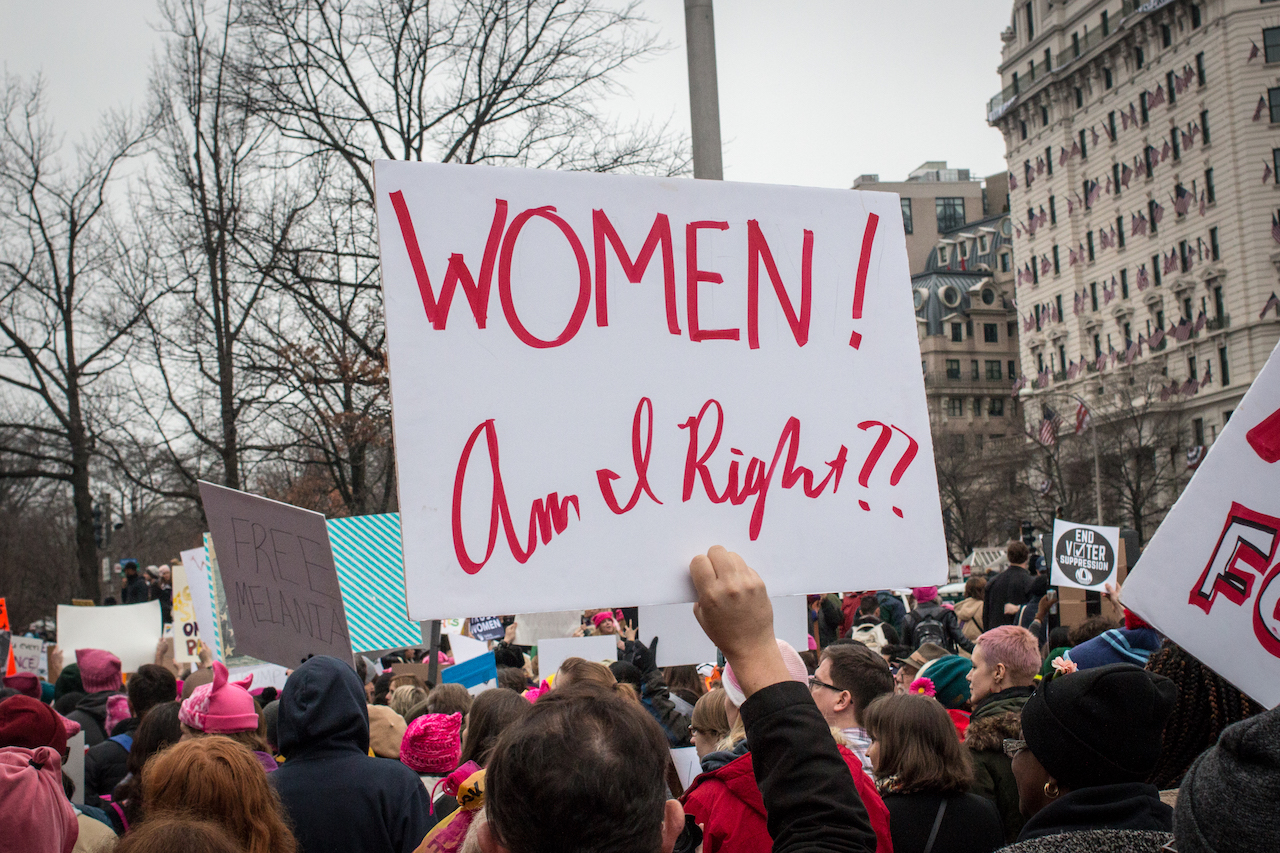 """DC Women's March"", by Liz Lemon is licensed under CC0 1.0"