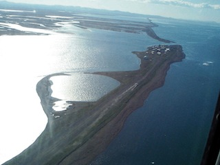 Aerial view of Kivalina, Alaska, USA, U.S. Army Corps of Engineers Digital Visual Library,[http://images.usace.army.mil/images/Hires/cepoa171.jpg
