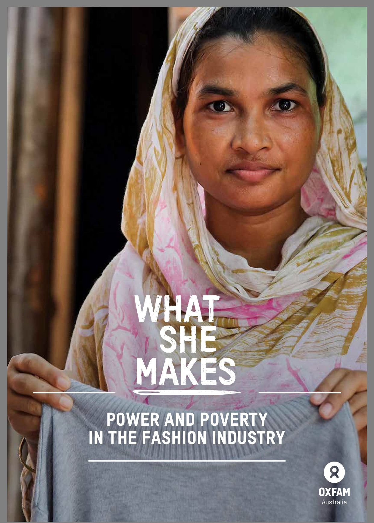 Oxfam Report What She Makes