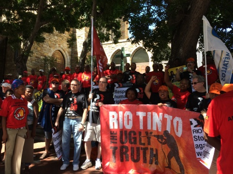 Rio Tinto Rally PNG By: PNG Mine Watch