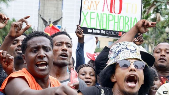 Image result for 'Leave SA Or Die'– Xenophobic Attackers Warn Nigerians In South Africa