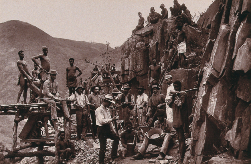 De Kaap Gold Fields, South Africa 1888, WellCome Images