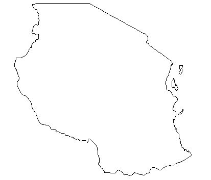 Tanzania-outline-map-credit-Matt-Rosenberg-About.com-geography
