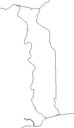 Togo-outline-map-credit-Matt-Rosenberg-About.com-geography
