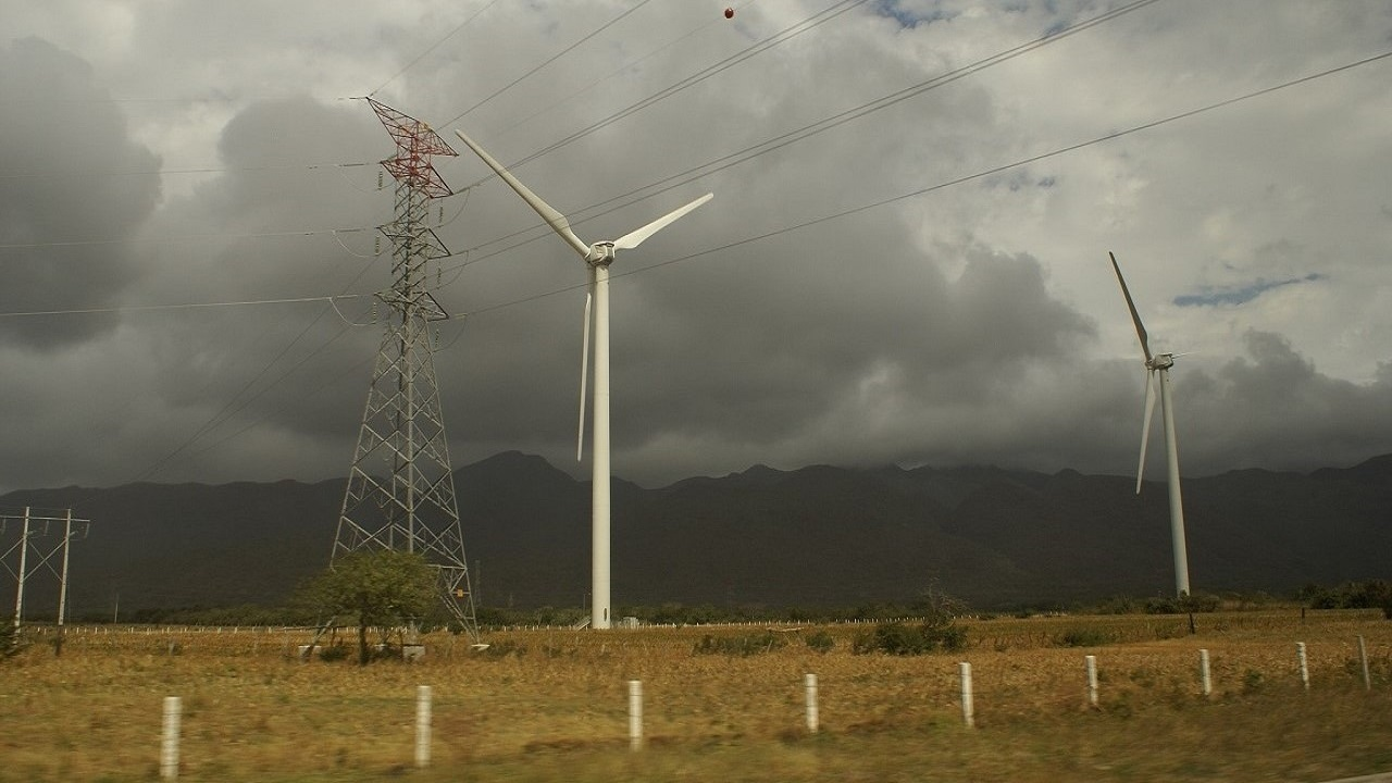 Windmill Farm Landscape. Photo credit: Wikimedia.