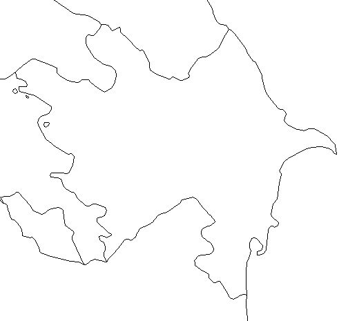 Azerbaijan-outline-map-credit-Matt-Rosenberg-About.com-geography