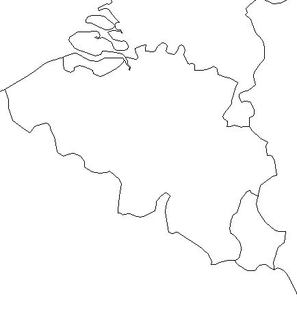 Belgium-outline-map-credit-Matt-Rosenberg-About.com-geography