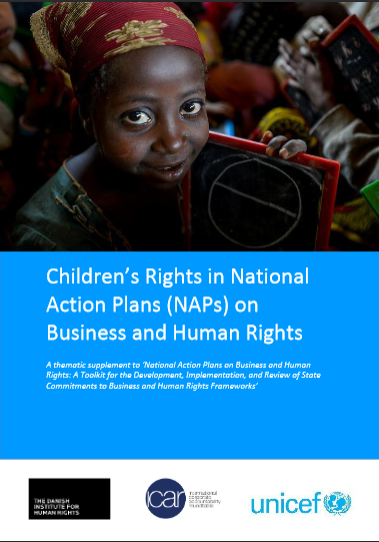 credit: unicef, dihr, icar guide on children's rights & NAPs