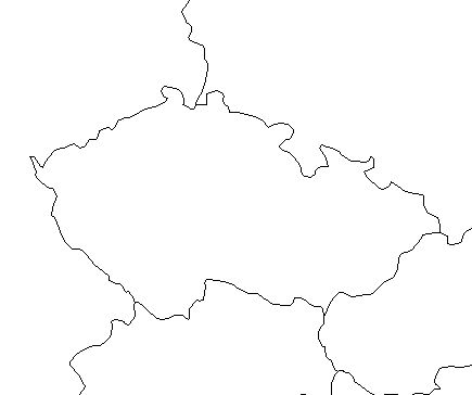 Czech Republic-outline-map-credit-Matt-Rosenberg-About.com-geography