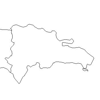 dominicanrepublic-outline-map-credit-Matt-Rosenberg-About.com-geography