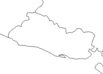 elsalvador-outline-map-credit-Matt-Rosenberg-About.com-geography