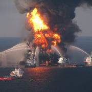 Deepwater Horizon Source: US Coast Guard, Creative Commons