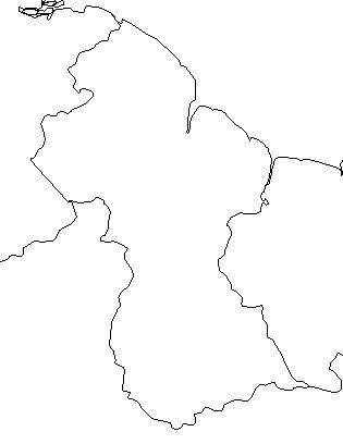 guyana-outline-map-credit-Matt-Rosenberg-About.com-geography