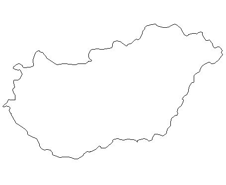 Hungary-outline-map-credit-Matt-Rosenberg-About.com-geography