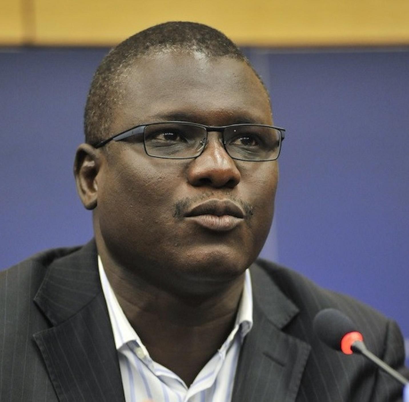 Ali Idrissa, défenseur des droits de l'homme au Niger (crédit photo : ITIE)